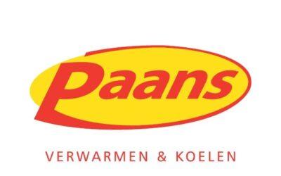 De nieuwe website van Paans Installatiebedrijven