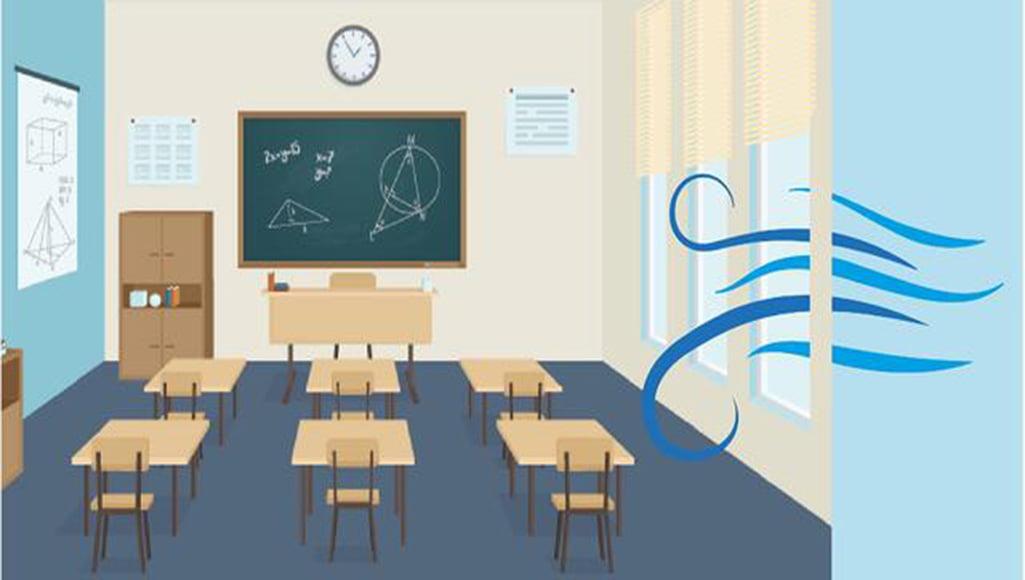 Coronaproof ventilatie in scholen