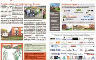 Wij steunen het Tuinproject Goezate in Werkendam!