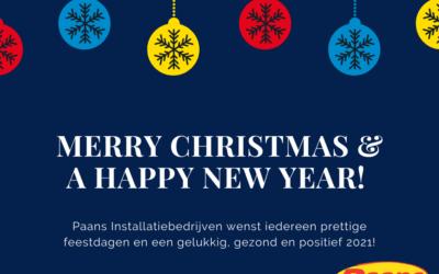Fijne feestdagen en een gelukkig en gezond 2021!